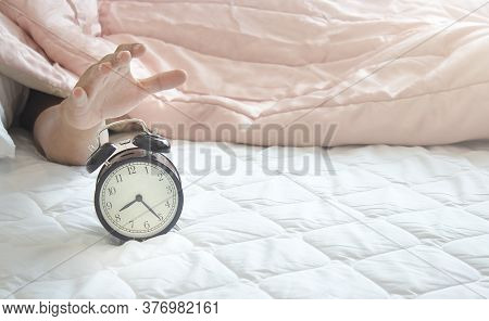 Don't Want To Wake Up When Hearing An Alarm