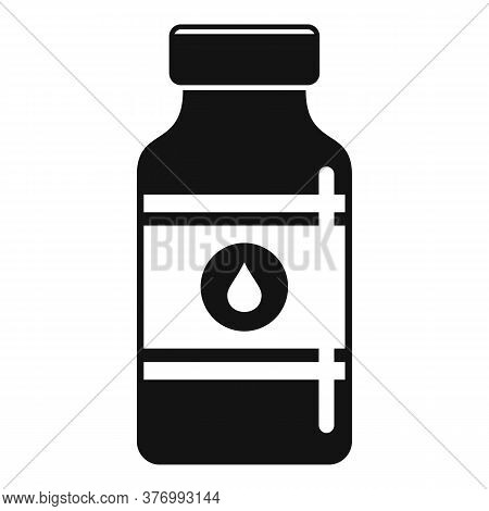 Pharmacist Cough Syrup Icon. Simple Illustration Of Pharmacist Cough Syrup Vector Icon For Web Desig