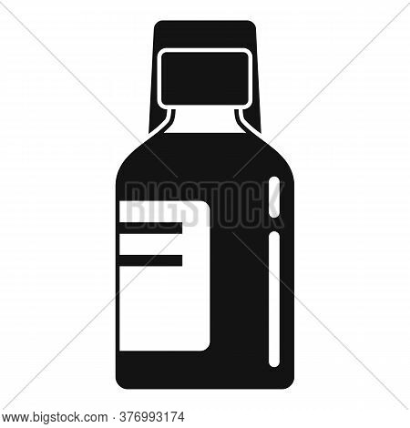 Baby Cough Syrup Icon. Simple Illustration Of Baby Cough Syrup Vector Icon For Web Design Isolated O