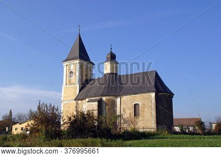 Church of St. Francis Xavier in Gornja Rijeka Croatia