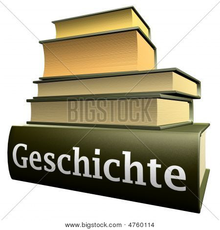 German Education Books - History