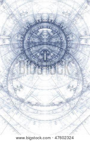 Abstract magic symbol