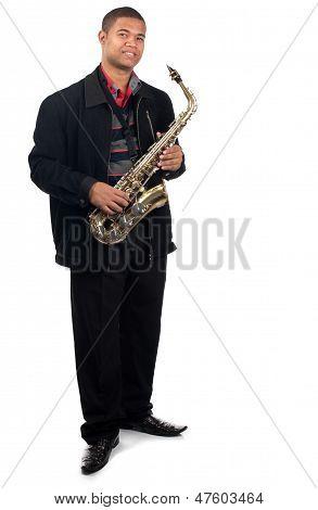 Proud Saxophonsit