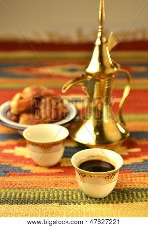 Arabic kahva set