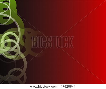 background red and black