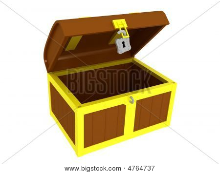 Empty Treasure Chest