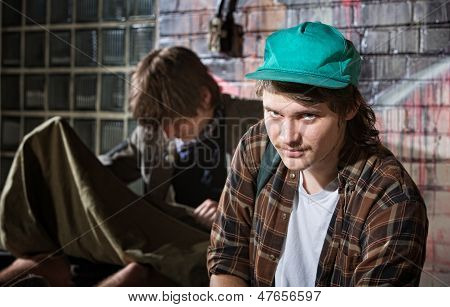 Frustrated Homeless Youth