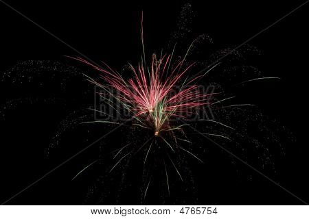 Red & Green Fireworks