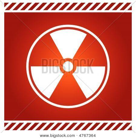 Vector Sign For Radioactivity