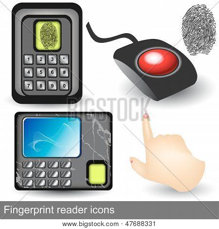 Fingerprint Reader Icons