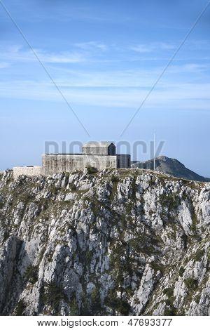 Mausoleum on mount Lovcen