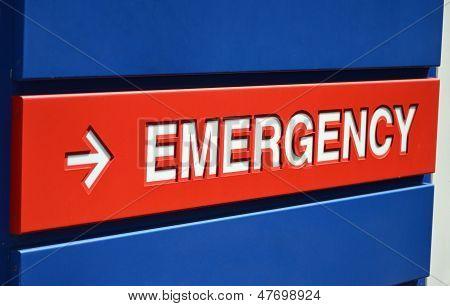 Emrgency Sign