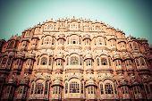 Hawa Mahal the Palace of Winds Jaipur Rajasthan India poster