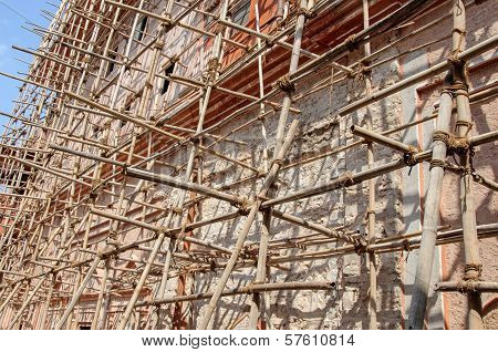 special asian technology of scaffolding
