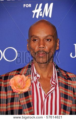 RuPaul at the Jimmy Choo For H&M Collection, Private Location, Los Angeles, CA. 11-02-09