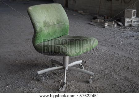 Abandoned Office Chair