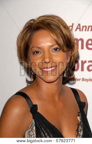 Asha Blake at the International Myeloma Foundation's 3rd Annual Comedy Celebration for the Peter Boyle Memorial Fund, Wilshire Ebell Theater, Los Angeles, CA. 11-07-09