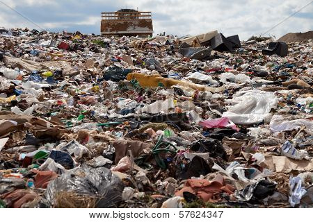 Landfill Truck Coming