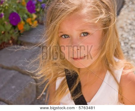 Cute Four Year Old Girl