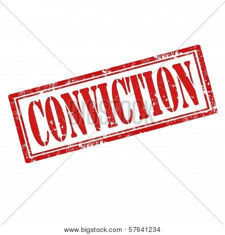 Conviction-stamp