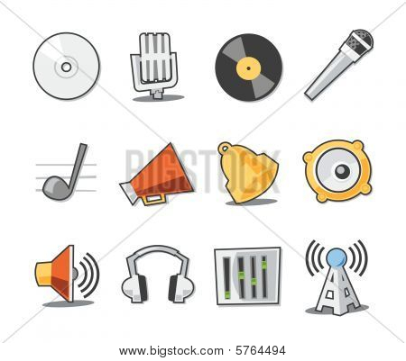 Music Icons Fresh Collection - Set 6