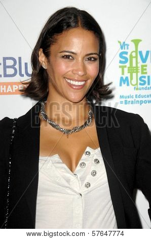 Paula Patton at the JetBlue Airways and VH1 Save the Music Party. MyHouse, West Hollywood, CA. 06-17-09