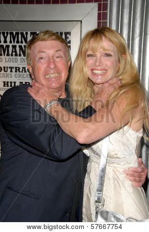 Larry Cohen and Laurene Landon  at the Los Angeles Charity Benefit Premiere of 'Bad Cop'. Fairfax Cinemas, West Hollywood, CA. 07-09-09