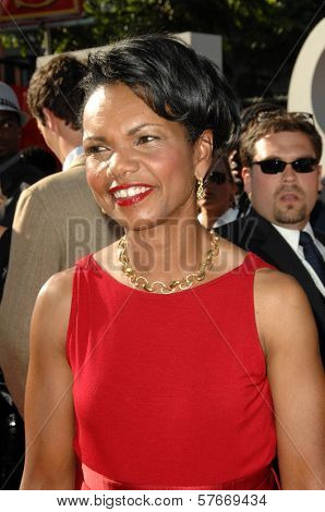 Condoleezza Rice  at the 17th Annual ESPY Awards. Nokia Theatre, Los Angeles, CA. 07-15-09