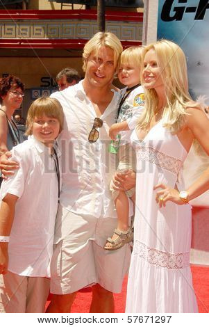Gena Lee Nolin and family at the World Premiere of 'G-Force'. El Capitan Theatre, Hollywood, CA. 07-19-09