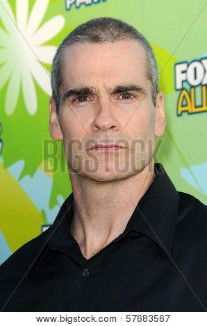 Henry Rollins at FOX's 2009 All Star Party. Lanham Huntington Hotel, Pasadena, CA. 08-06-09