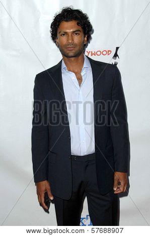 Sendhil Ramamurthy  at the Hollyshorts Haiti Charity VIP Webisode Celebration. Kress, Hollywood, CA. 08-08-09