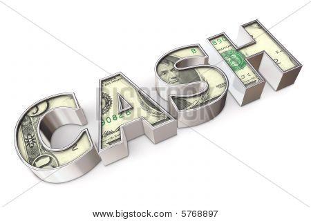 Texture Cash Dollar