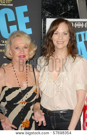 Tippi Hedren and Lesley Ann Warren  at the Los Angeles Premiere of 'Gotta Dance'. Linwood Dunn Theatre, Hollywood, CA. 08-13-09