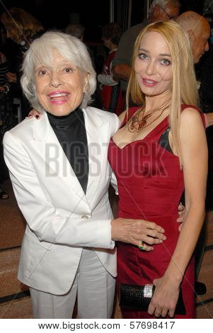 Carol Channing and Lorielle New at the Los Angeles Premiere of 'Gotta Dance'. Linwood Dunn Theatre, Hollywood, CA. 08-13-09
