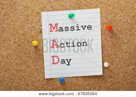 Massive Action Day