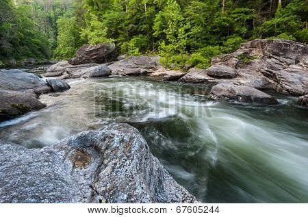 Chattooga Wild and Scenic Commercial Whitewater River