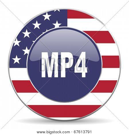 mp4 american icon