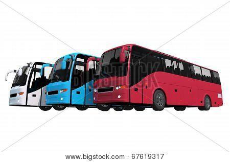 Buses Fleet Isolated