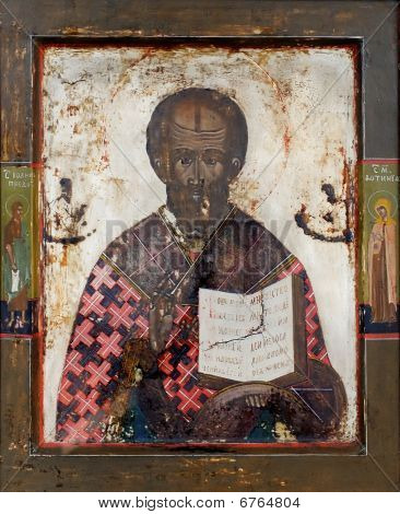 Icon Of Saint Nicolas