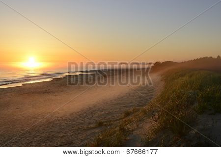 Foggy Sunrise - Prince Edward Island