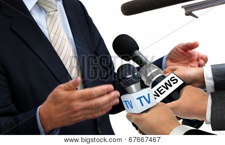 Media Interview With Spokesperson