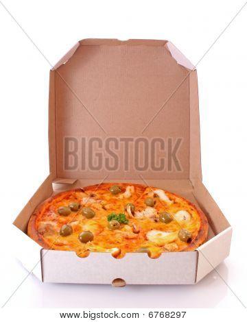 Delivered Pizza