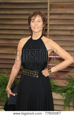 LOS ANGELES - MAR 2:  Carey Lowell at the 2014 Vanity Fair Oscar Party at the Sunset Boulevard on March 2, 2014 in West Hollywood, CA