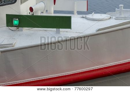 Bow Of A Small Ship