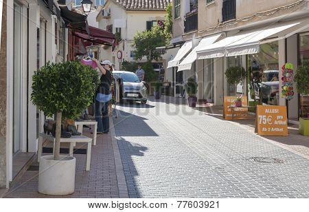 Street View In Port D'andratx. Low Season Sales