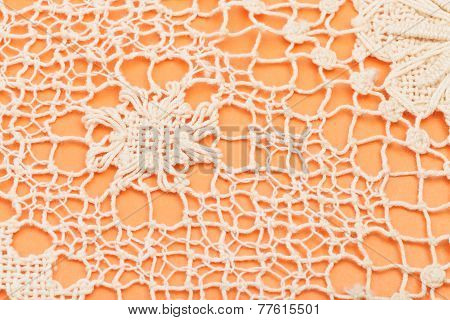 vintage knitting craftsmanship - openwork by Maltese bobbin lace poster