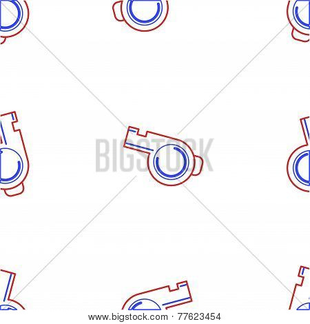 Vector background for whistle