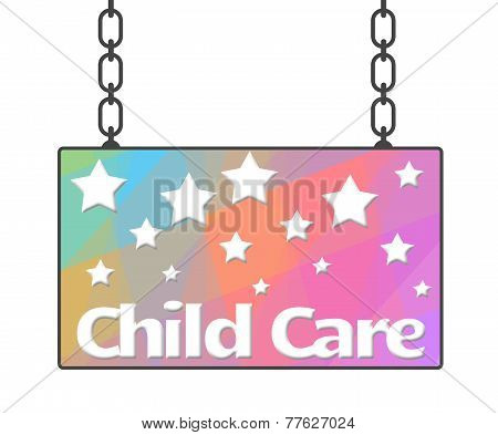 Child Care Signboard