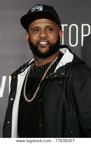 NEW YORK-DEC 3: Professional baseball player CC Sabathia  attends the