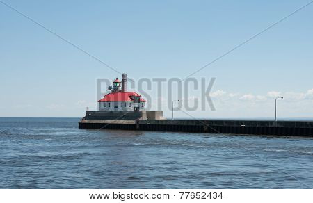 Harbor in Duluth, Minnesota